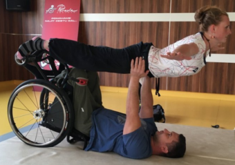 Akro s vozíčkáři 2018